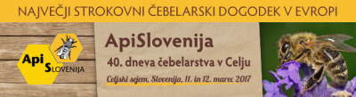 ApiSlovenija, 40. dnevi čebelarstva v Celju, 11.-12. 3. 2017