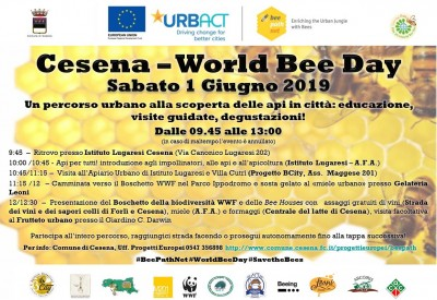 Cesena Bee Path: our first celebration of the World Bee Day
