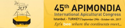 45. zasedanje kongresa Apimondia, 29.9.-4.10.2017, Istanbul, Turčija