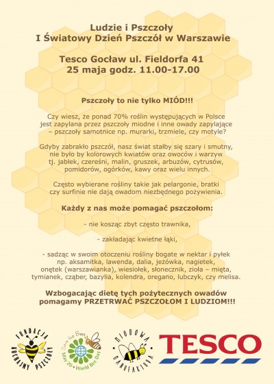 World Bee Day - Warsaw